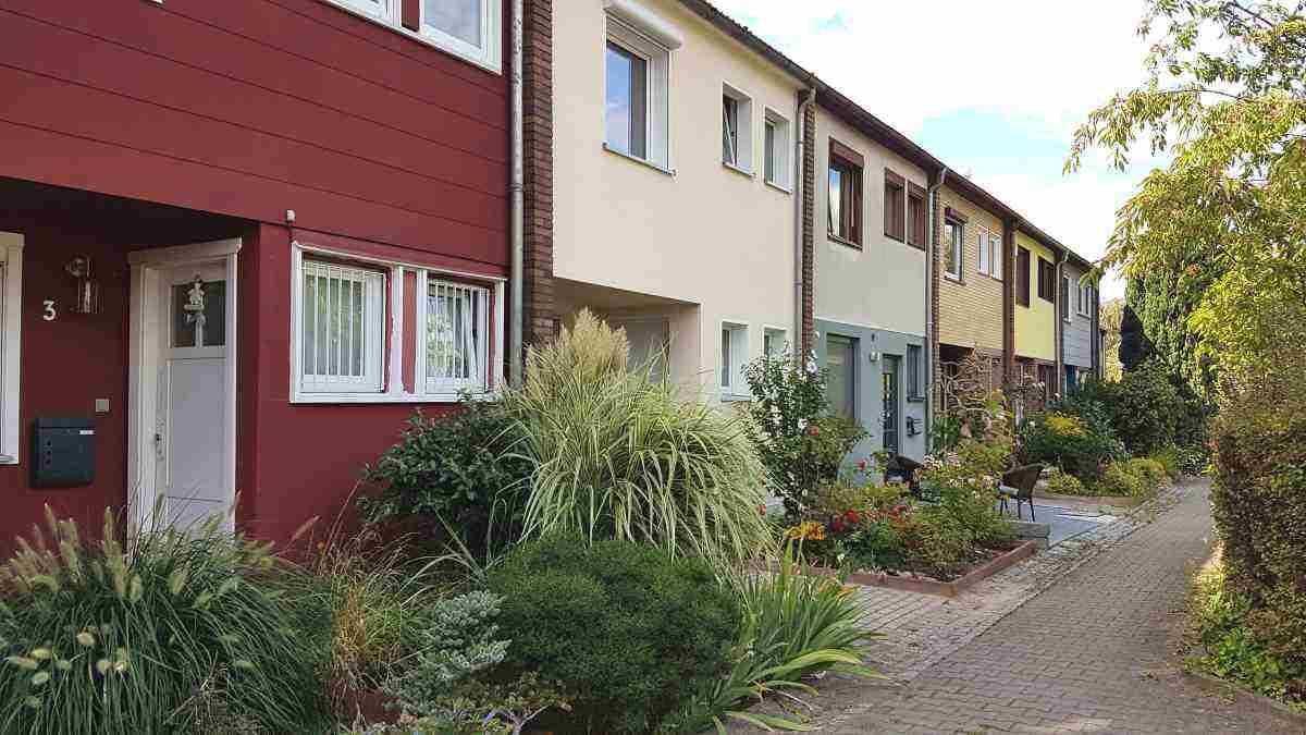 Finnenhaussiedlung in Berlin-Kladow